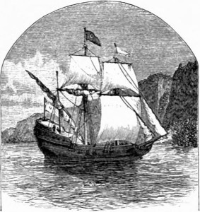 Henry Hudson's ship the Half Moon